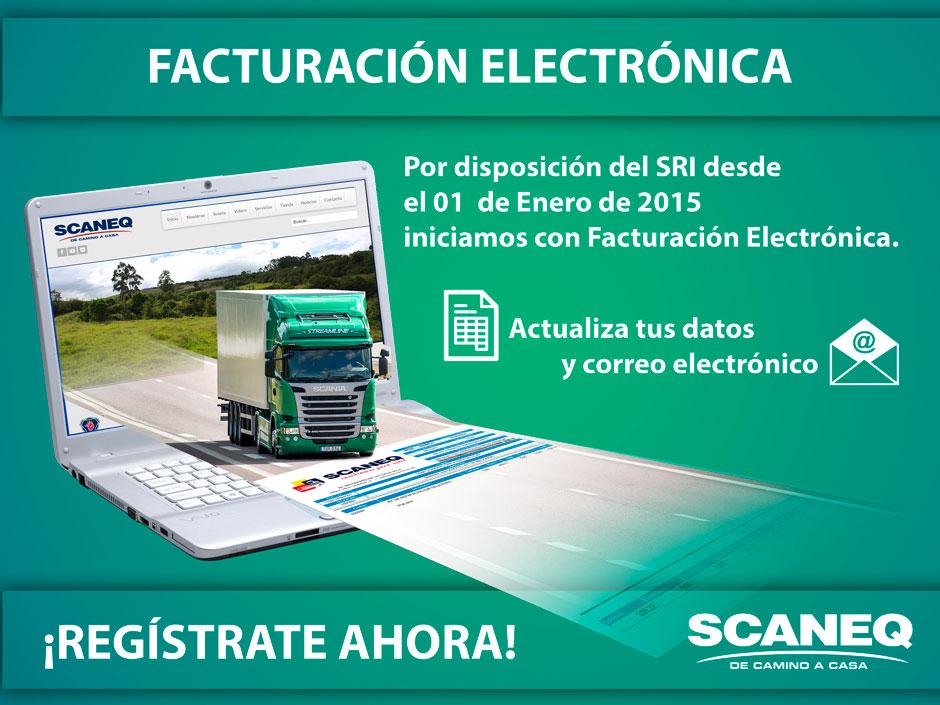 FACTURACIÓN ELECTRÓNICA 2015